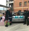 "Our academy participated in a ""Cram the Cruiser Challenge"" where students donate toys for families in need."