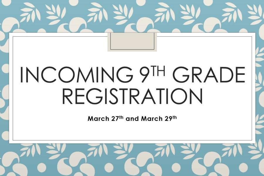 Upcoming 9th Grade Enrollment- click here
